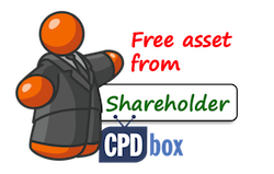 IFRS Free Asset from Shareholder